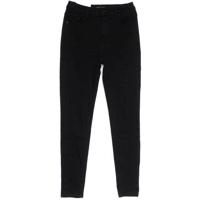 7786 Saint Wish джинсы женские полубатальные черные осенние стрейчевые (28-33, 6 ед.) Saint Wish: артикул 1112037