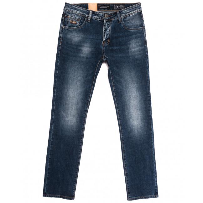 2279 Fang джинсы мужские синие осенние стрейчевые (30-38, 8 ед.) Fang: артикул 1112090