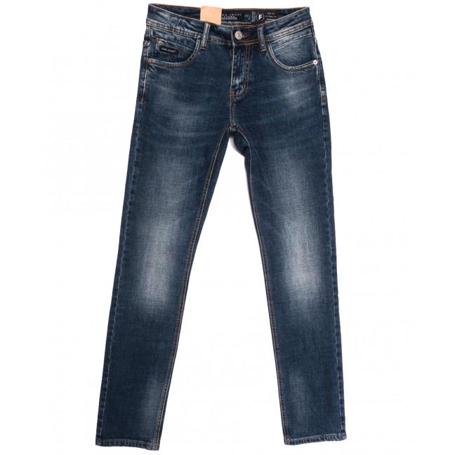 2277 Fang джинсы мужские молодежные синие осенние стрейчевые (28-34, 8 ед.) Fang: артикул 1112087