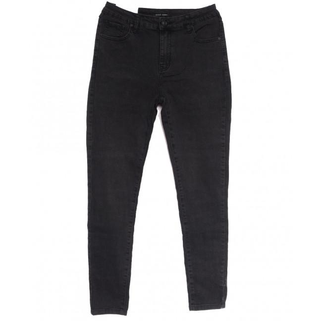 7720 Saint Wish джинсы женские батальные темно-серые осенние стрейчевые (30-36, 6 ед.) Saint Wish: артикул 1112040