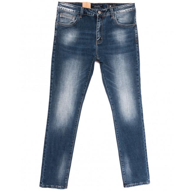 2273 Fang джинсы мужские синие осенние стрейчевые (29-36, 8 ед.) Fang: артикул 1112089