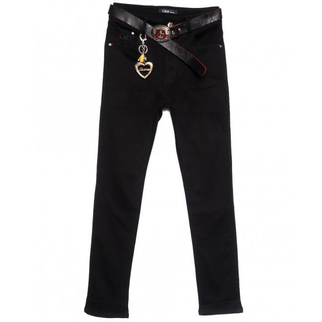 6243-3 Like джинсы женские батальные черные осенние стрейчевые (31-38, 6 ед.) Like: артикул 1112099