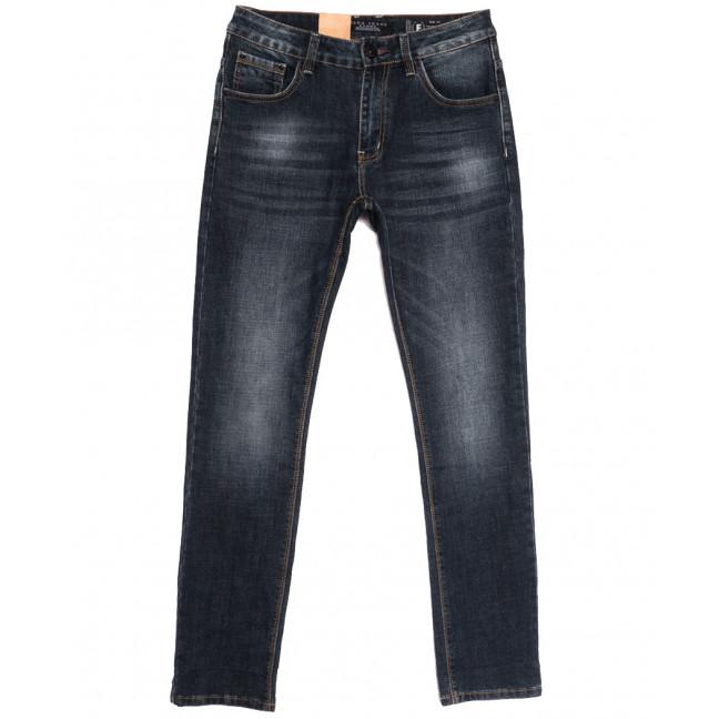 2296 Fang джинсы мужские синие осенние стрейчевые (30-38, 8 ед.) Fang: артикул 1112095