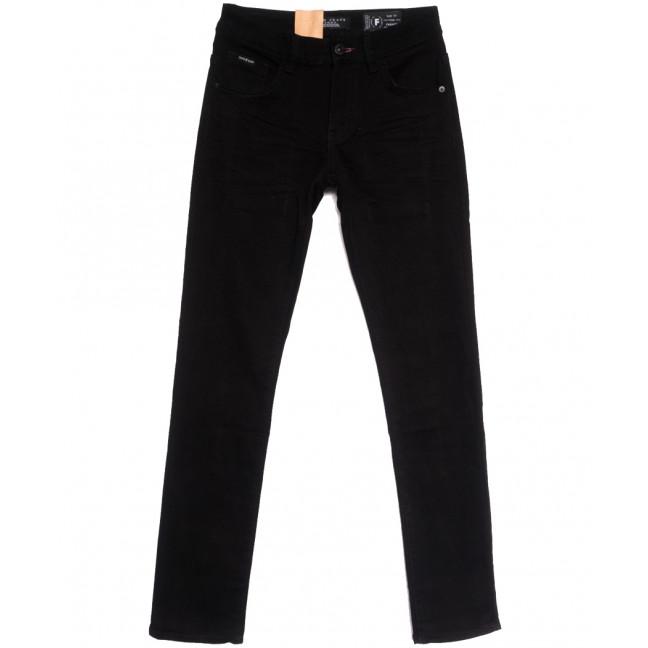 2282 Fang джинсы мужские молодежные черные осенние стрейчевые (28-34, 8 ед.) Fang: артикул 1112097