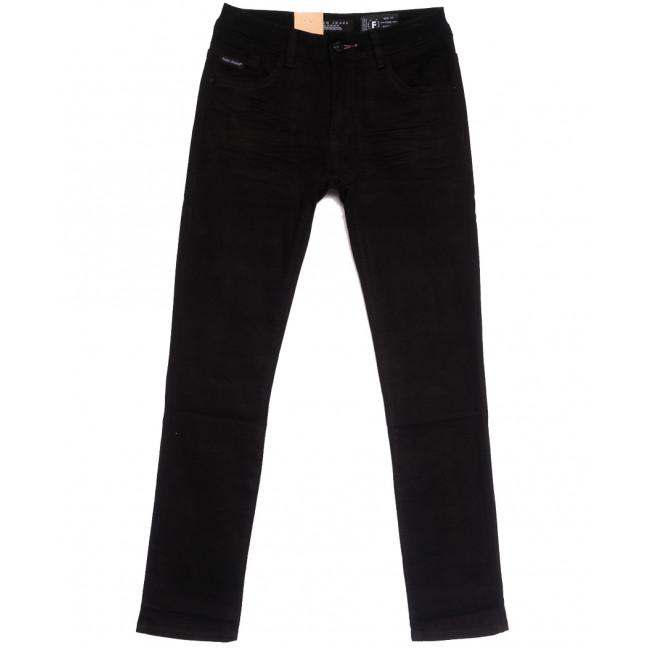 2281 Fang джинсы мужские черные осенние стрейчевые (30-38, 8 ед.) Fang: артикул 1112098