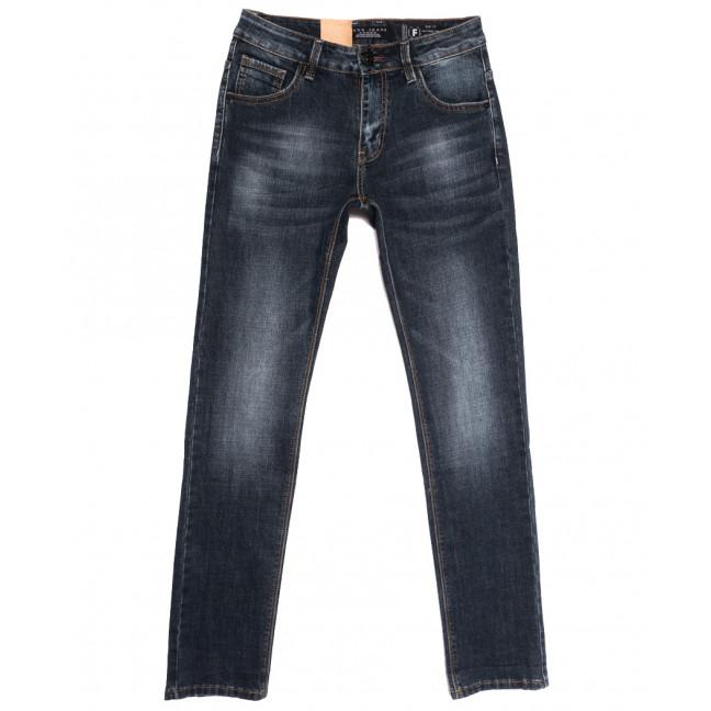 2290 Fang джинсы мужские синие осенние стрейчевые (29-36, 8 ед.) Fang: артикул 1112094