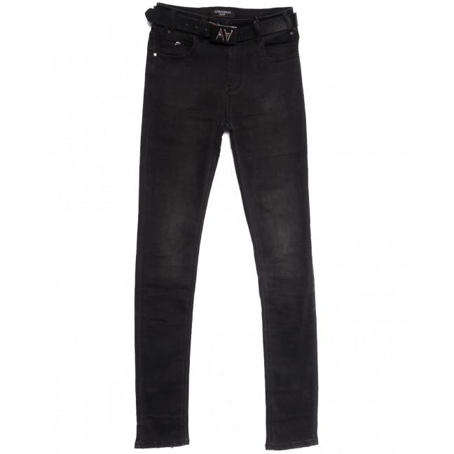 9376 Dimarkis Day джинсы женские полубатальные темно-серые осенние стрейчевые (28-33, 6 ед.) Dimarkis Day: артикул 1112190