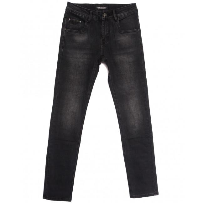 9072 Dimarkis Day джинсы мужские молодежные серые осенние стрейчевые (27-34, 8 ед.) Dimarkis Day: артикул 1112179
