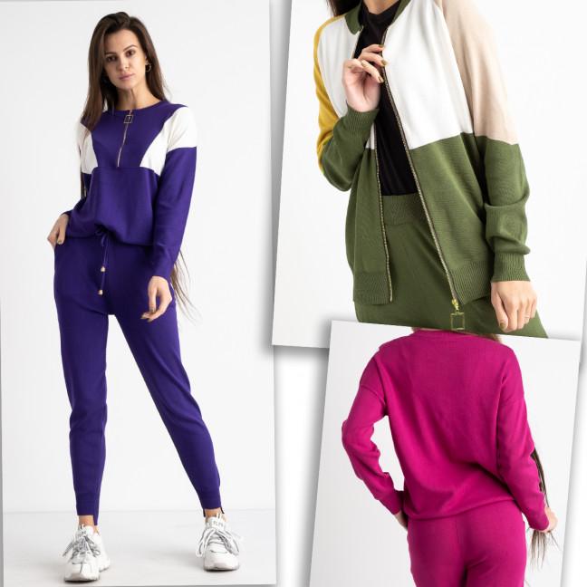 1605-99 M.K.Store спортивный костюм женский микс цветов (3 ед.размеры: универсал 44-48) M.K.Store: артикул 1125344