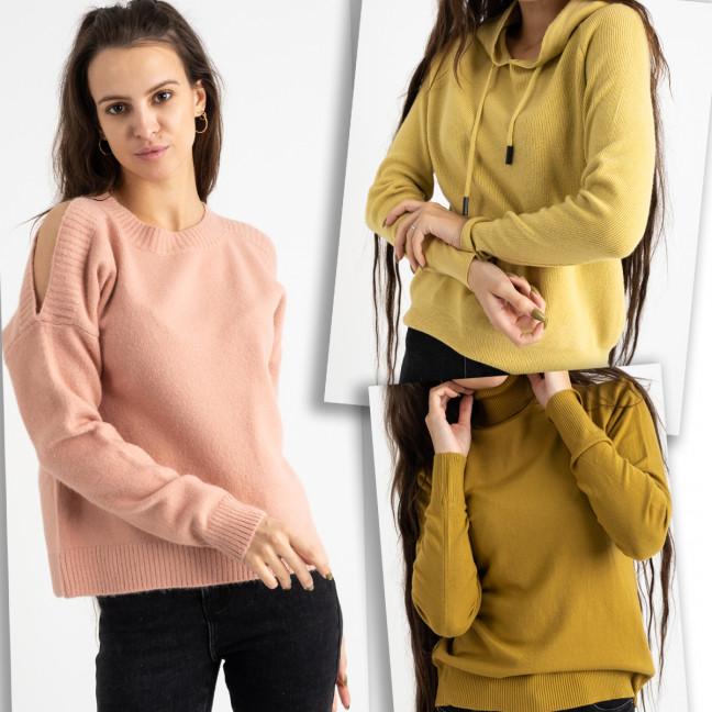 1620 свитер женский микс цветов и моделей (5 ед. размеры: универсал 42-46) Свитер: артикул 1125439