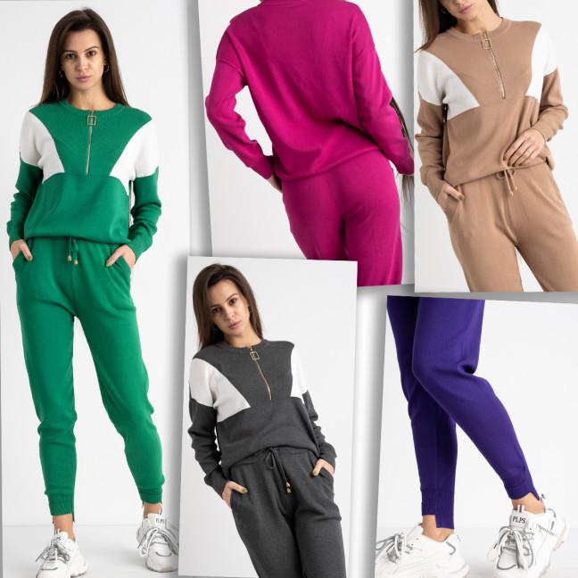 2110-99 M.K.Store спортивный костюм женский микс цветов (3 ед.размеры: универсал 44-48) M.K.Store: артикул 1125241