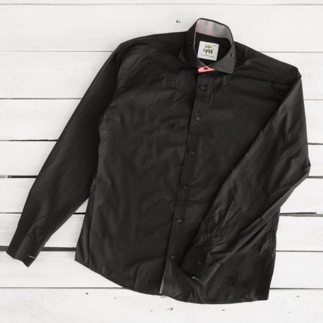 Рубашка мужская черная Afish 1465-4 Afish: артикул 1112047